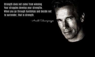 Arnold Schwarzenegger Wallpaper On Strength Motivational