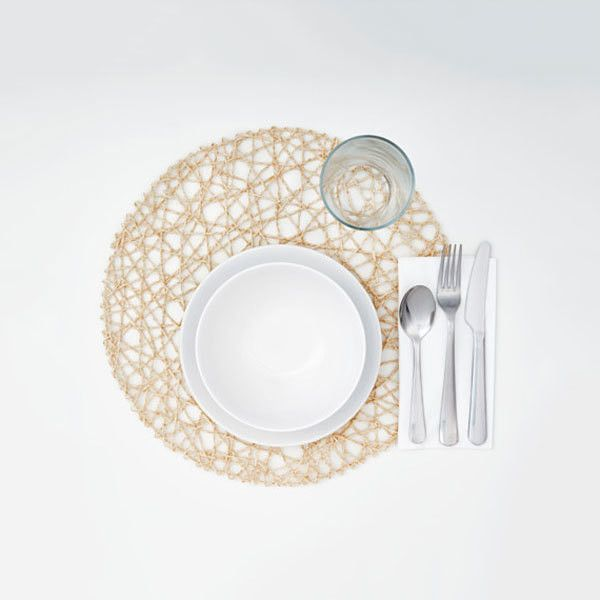 Handmade Placemat Placemats Custom Table Cloth Gold Placemats