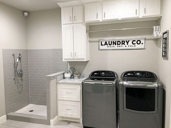 12 Inspiration Laundry Room Decorating Ideas For Small Spaces images