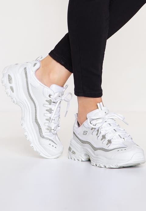 D'LITES Baskets basses whitesilver | shoes en 2019