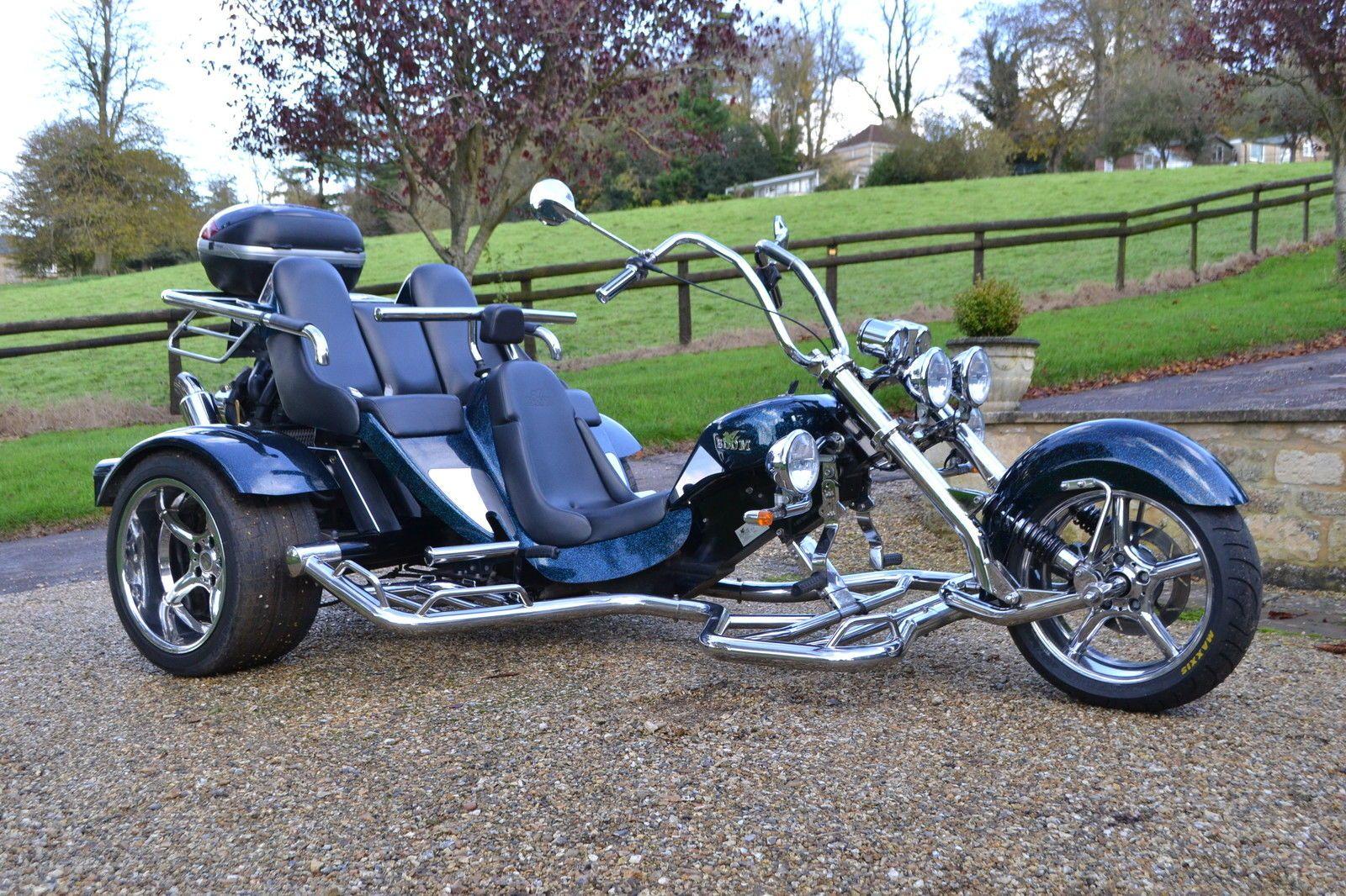 Boom Family Trike 6i With Duratec 1600 Trike Motorcycle Trike Vw Trike