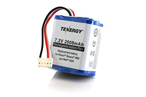 #manythings #Tenergy 7.2V 2000mAh Replacement Battery only works with iRobot® Braava® 380t and Mint® 5200. Features and Benefits Fully compatible with iRobot® mo...