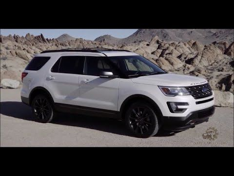 2017 ford explorer xlt first drive and review all new car review ford explorer ford. Black Bedroom Furniture Sets. Home Design Ideas