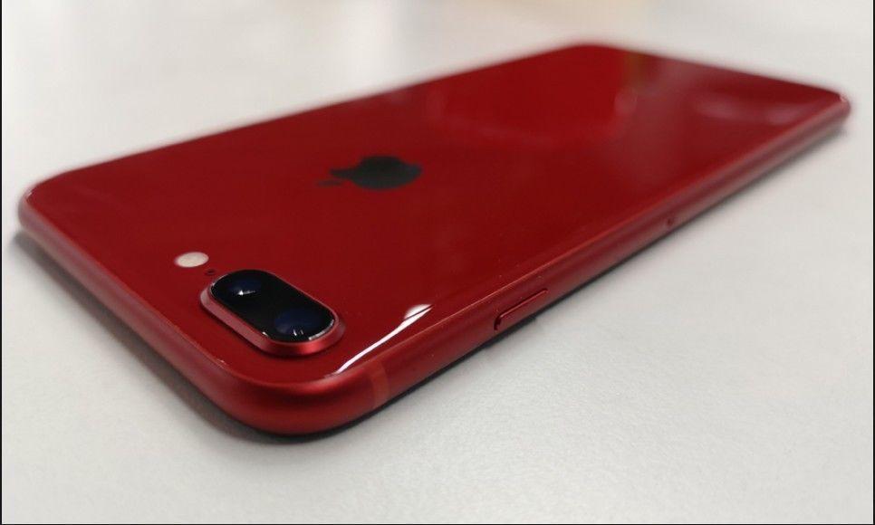 Apple Iphone 8 Plus A1864 64gb Red Unlocked Smartphone Iphone Iphone 8 Plus Apple Iphone