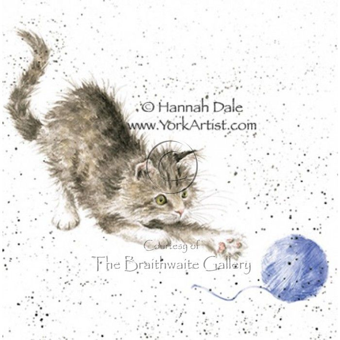 Kitty by Hannah Dale SIGNED PRINT