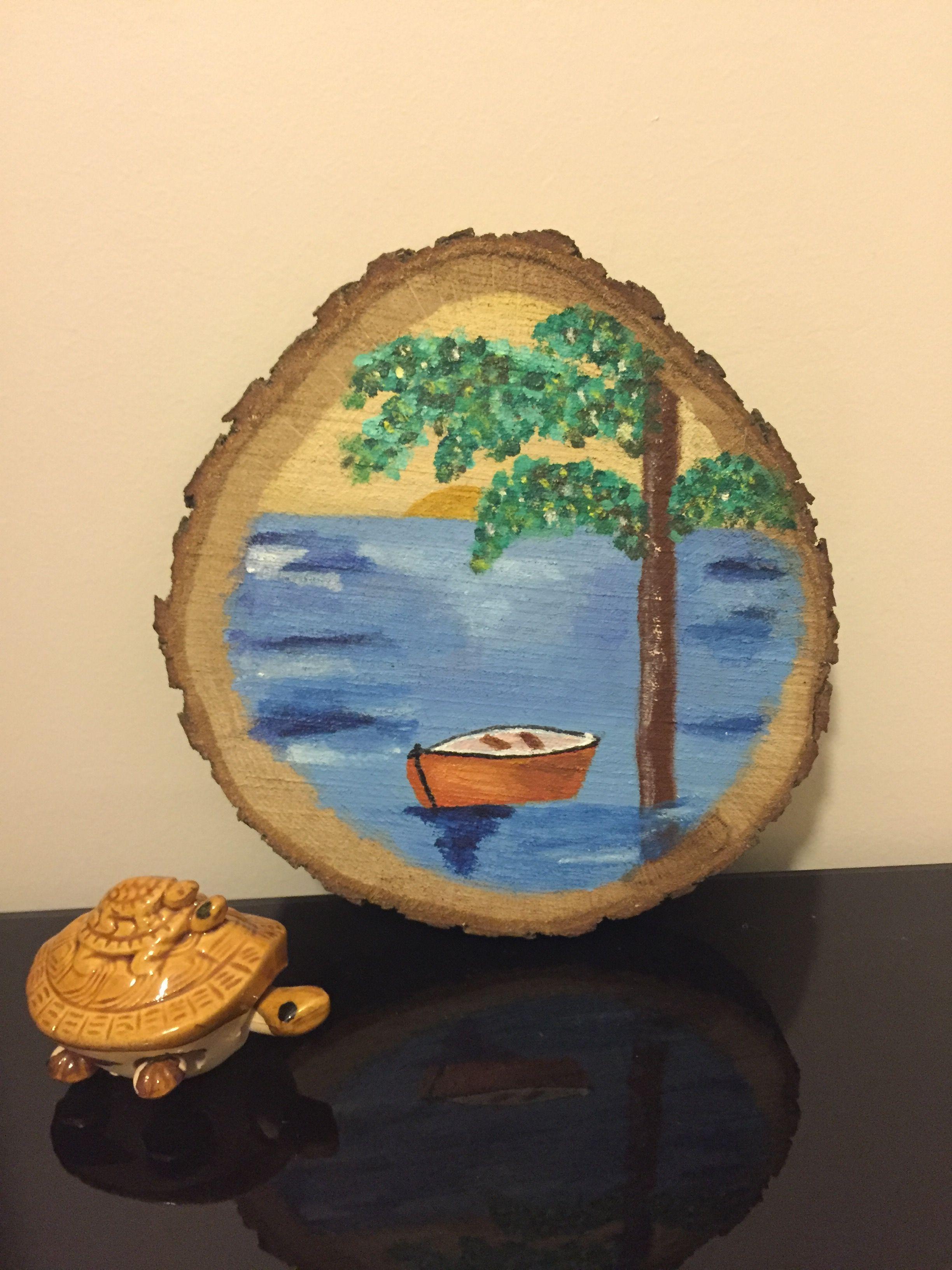 Kutuk Boyama Suluboya Sanati Sanat Resim