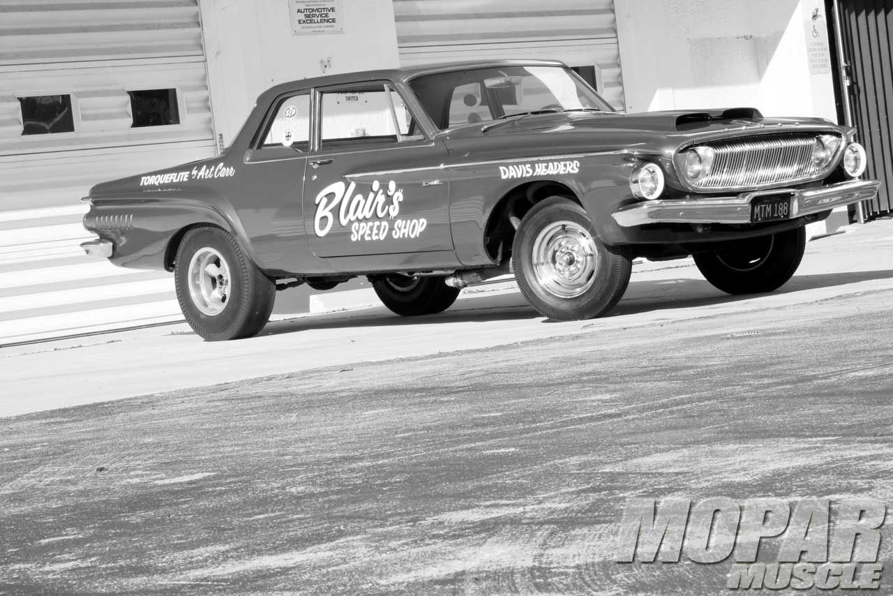 1962 Dodge Dart 2 Door Sedan Side View Photo 1