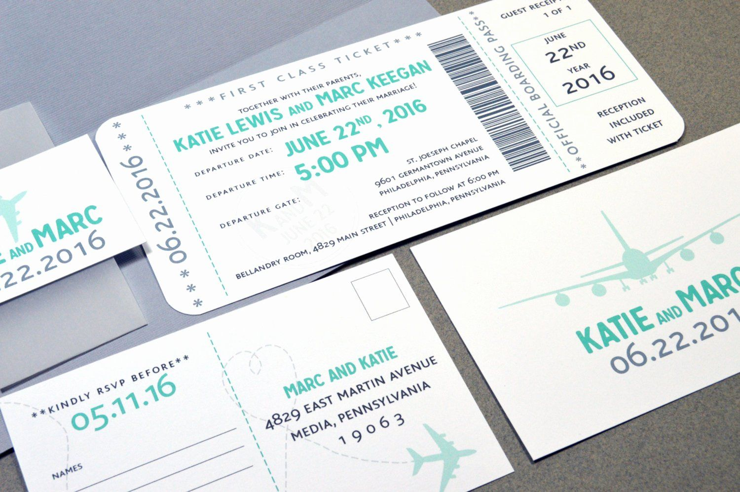 Plane Ticket Wedding Invitation Template Best Of Boarding Pass We