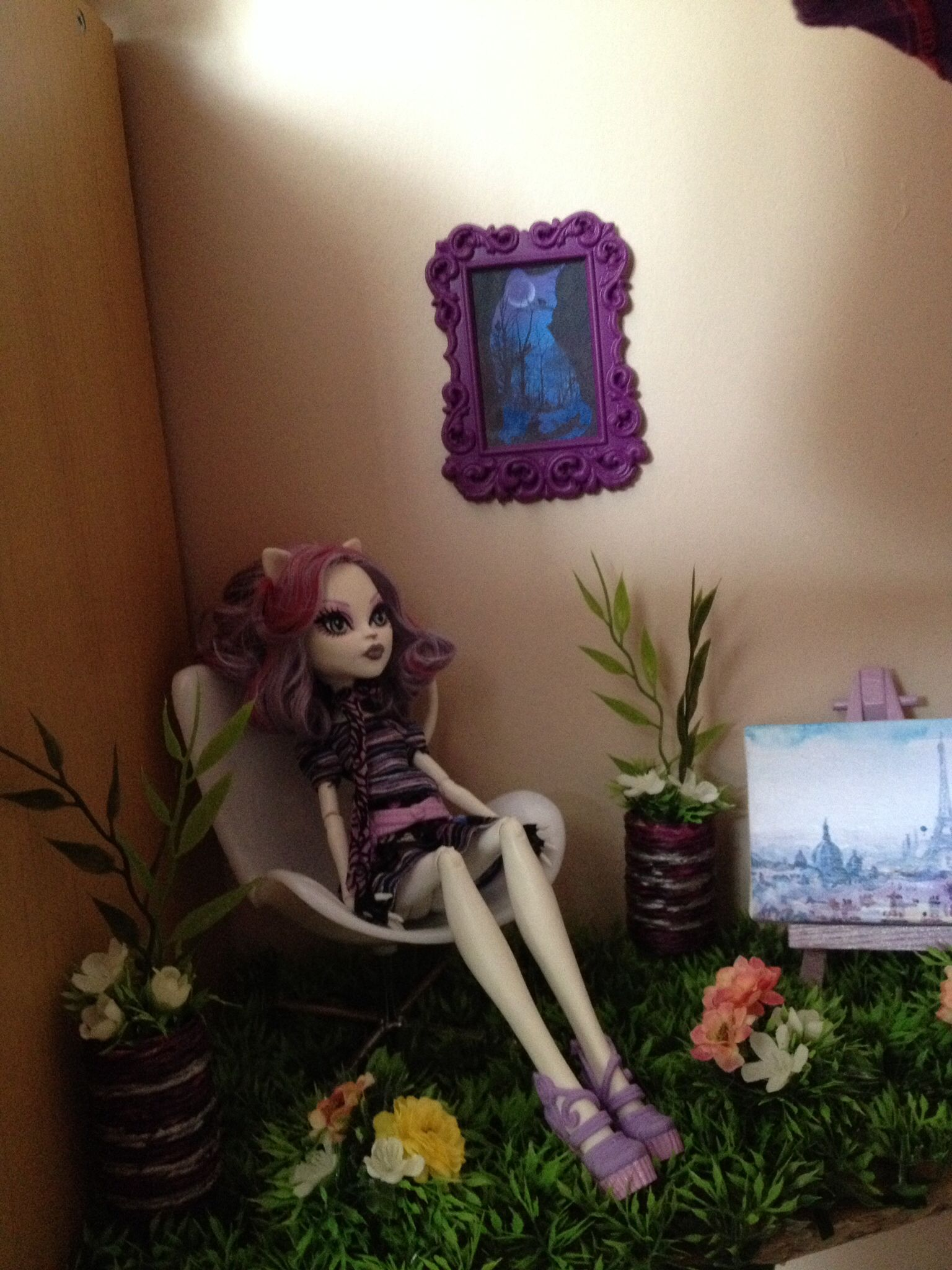 Diy Salon de jardin Catrine Demew Monster High | DIY Monster High ...