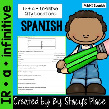 Spanish Ir + a + Infinitive with City Locations   Spanish ...