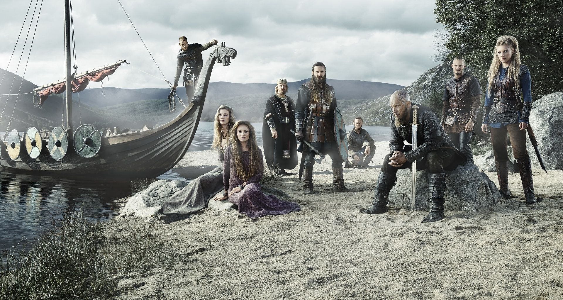 Fondos De Vikingos Wallpapers De La Serie Vikingos En Hd Series En 2019 Vikingos Actores