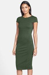 FELICITY & COCO Seamed Pencil Dress (Nordstrom Exclusive) with zipper up back! (Regular & Petite)