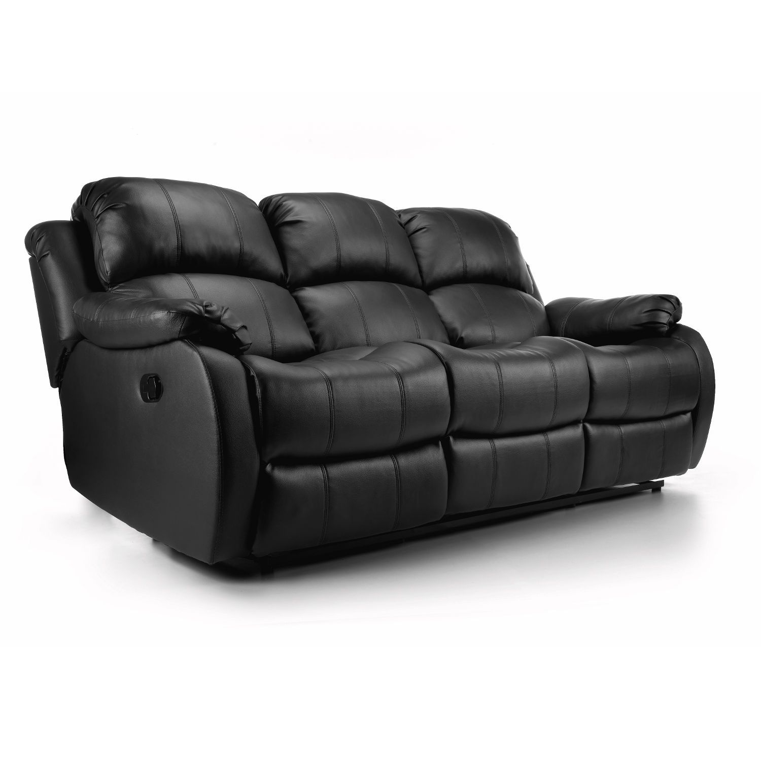 Anton Reclining Leather 3 Seater Sofa – Next Day Delivery Anton ...