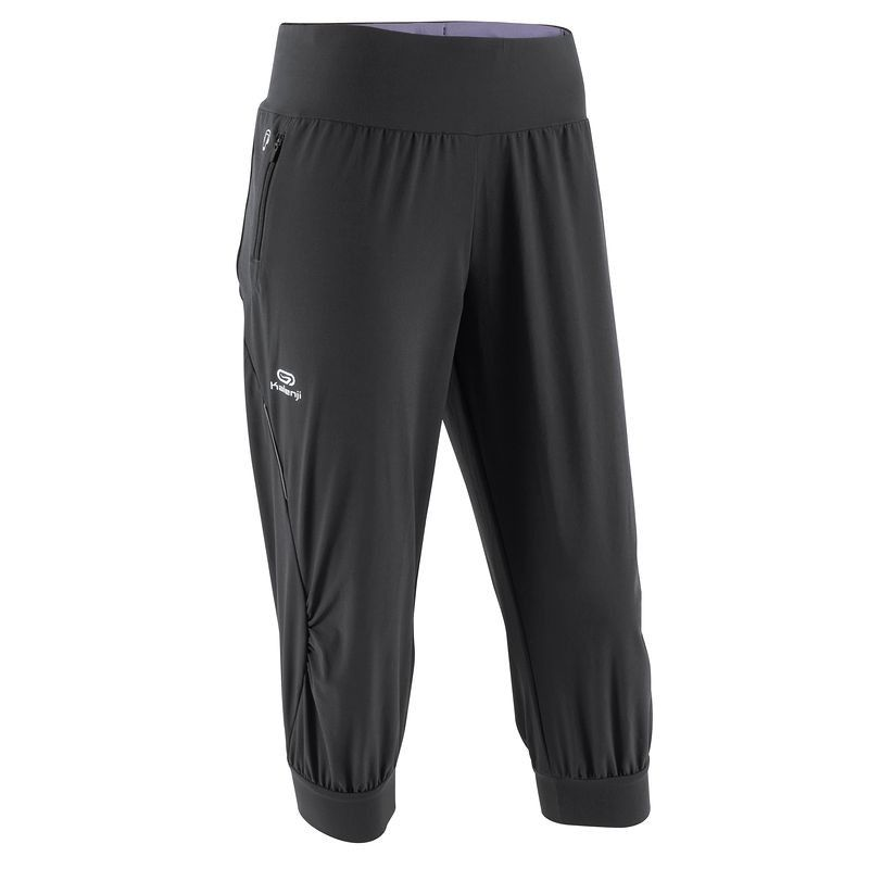 c2248f5f4f98a Trousers Running, Trail and Track - Elioplay Women's Capri Pants KALENJI -  Womens Running