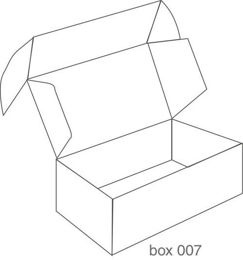Gallery For Box Packaging Design Templates Box Design