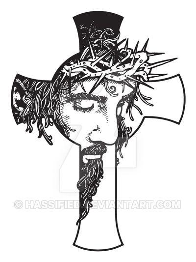 Jesus Cross by hassified.deviantart.com on @DeviantArt | Paper ...