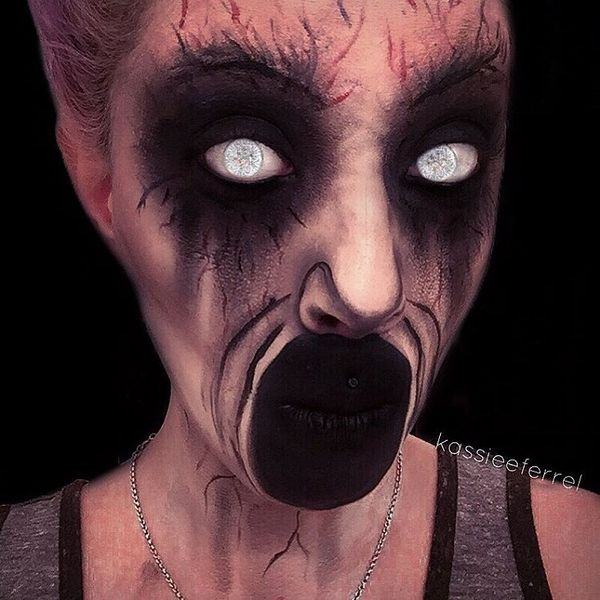 Halloween-Make-Up von Kassandra Ferrel #makeup