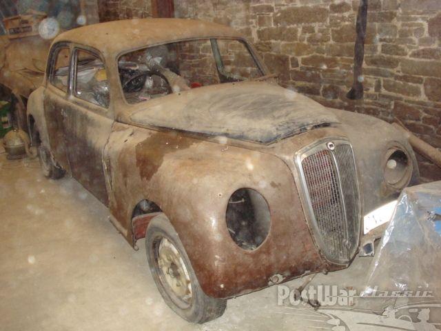 Cars Lancia Aurelia B10 Saloon 1950 For Sale Barn FindsRustEurope