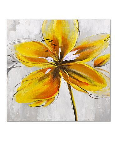 Yellow flower paintings google search florals pinterest yellow flower paintings google search mightylinksfo