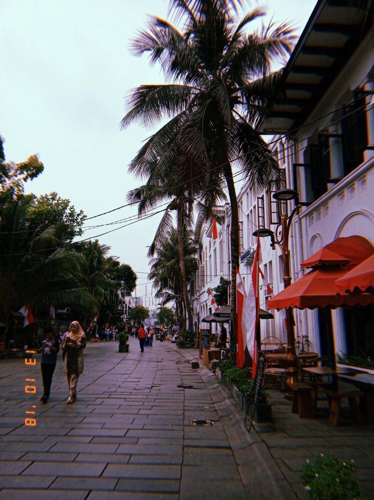 street at kota tua Jakarta Jakarta Oldcity Kotatua