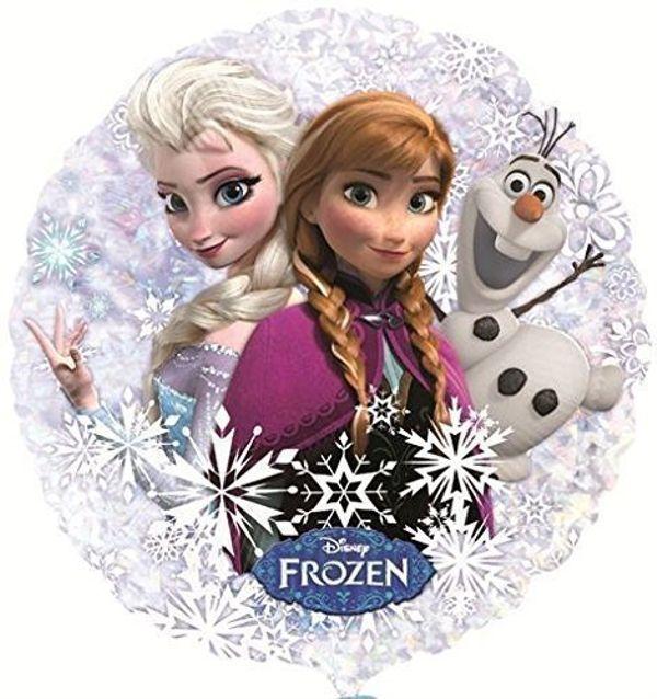 Folienballon Frozen Eiskoenigin Olaf Anna Elsa Prinzessin Disney