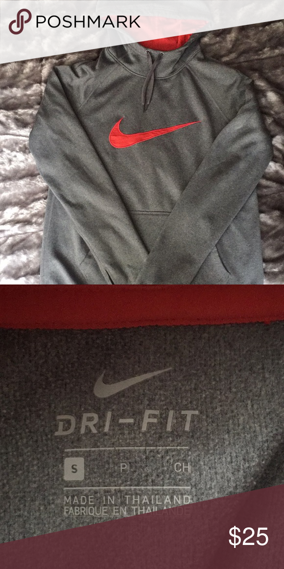 Symbol Of The Brand Nike Dri Fit Zip Up Sweater Clothing, Shoes & Accessories