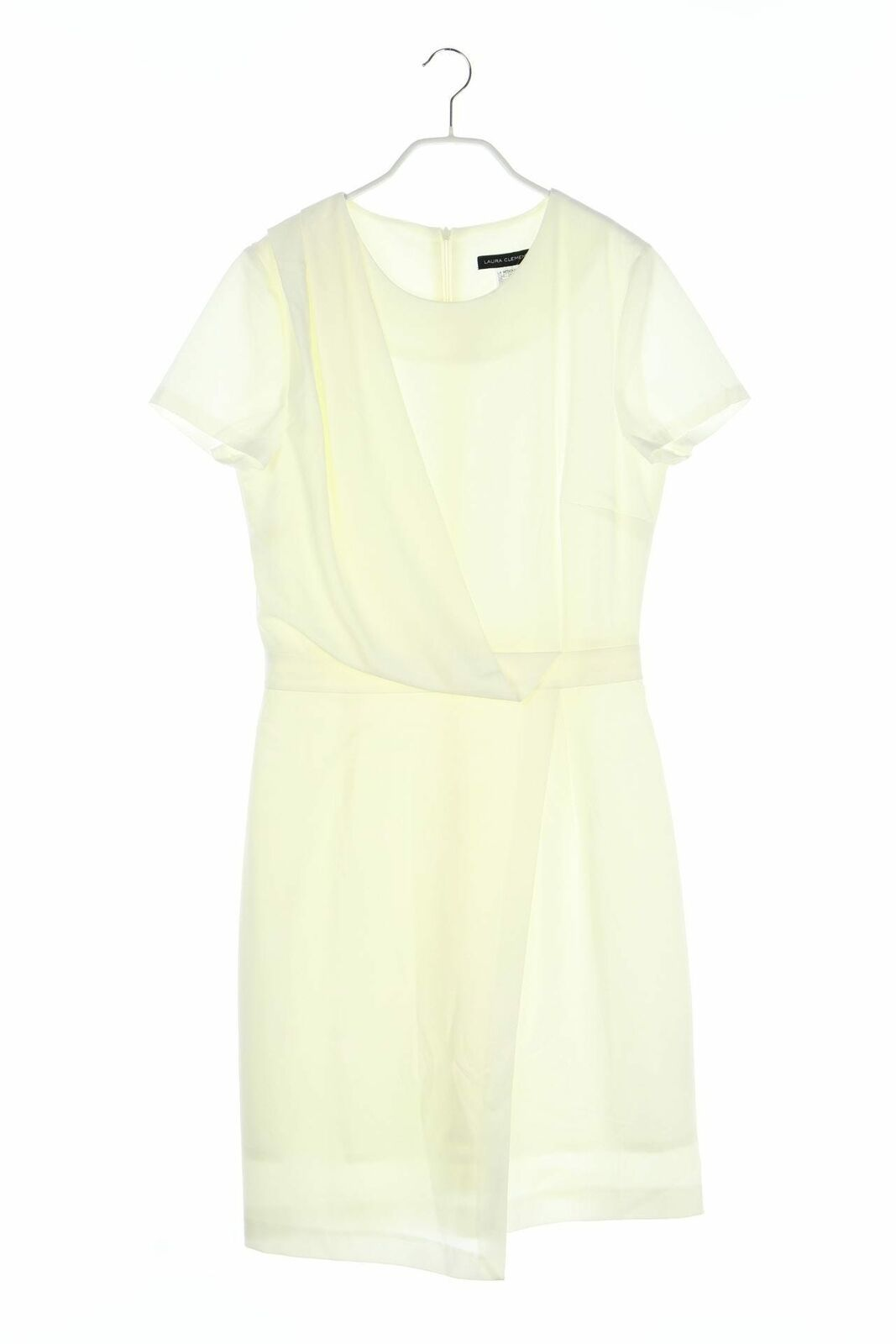 LAURA CLEMENT Kleid in Wickel-Optik D 11 Weiß - Wickelkleid