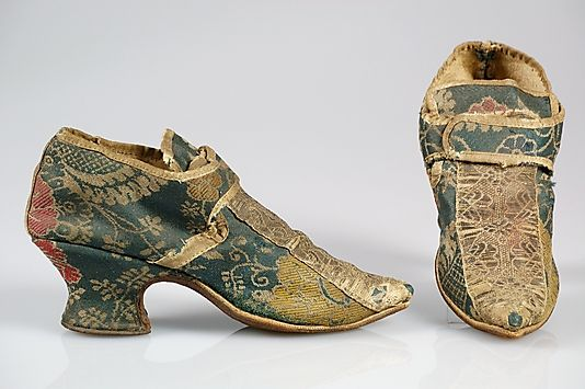 Shoes 1720, European, Made of wool