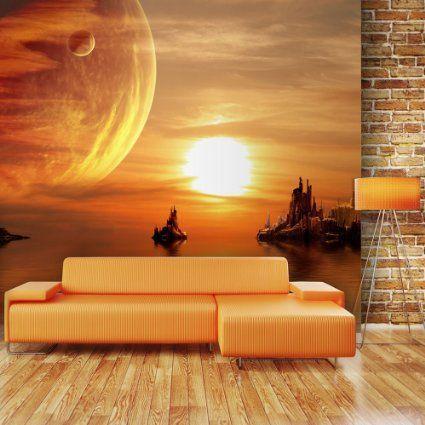 Vlies Fototapete 350x270 cm - Top ! Tapete ! Wandbilder XXL ! Natur - wandbilder für küche