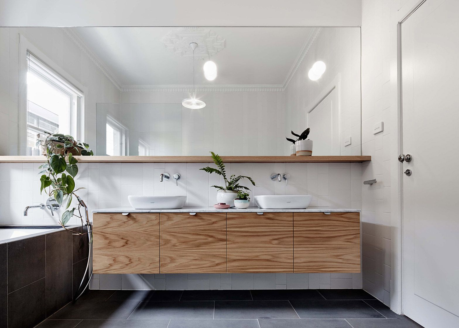 New Design Bathrooms Freadman White Designs New Layout For 1930S Melbourne Home