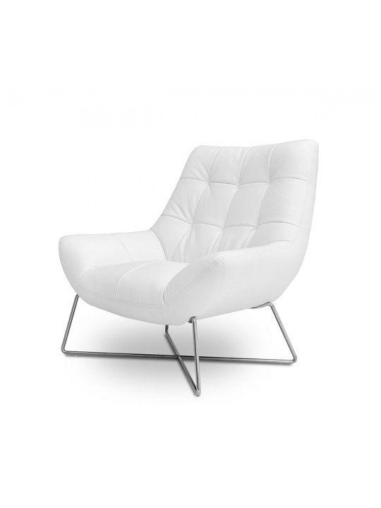 Incroyable Divani Casa Istra   Modern White Occasional Chair   VGKKA728 WHT   VIG  Furniture