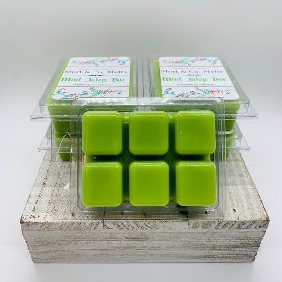 Mint Julep Bar - Wax Warmer Melts Disneyland Foods Mint Julep Drink Inspired Whimsical Highly Scente #disneylandfood