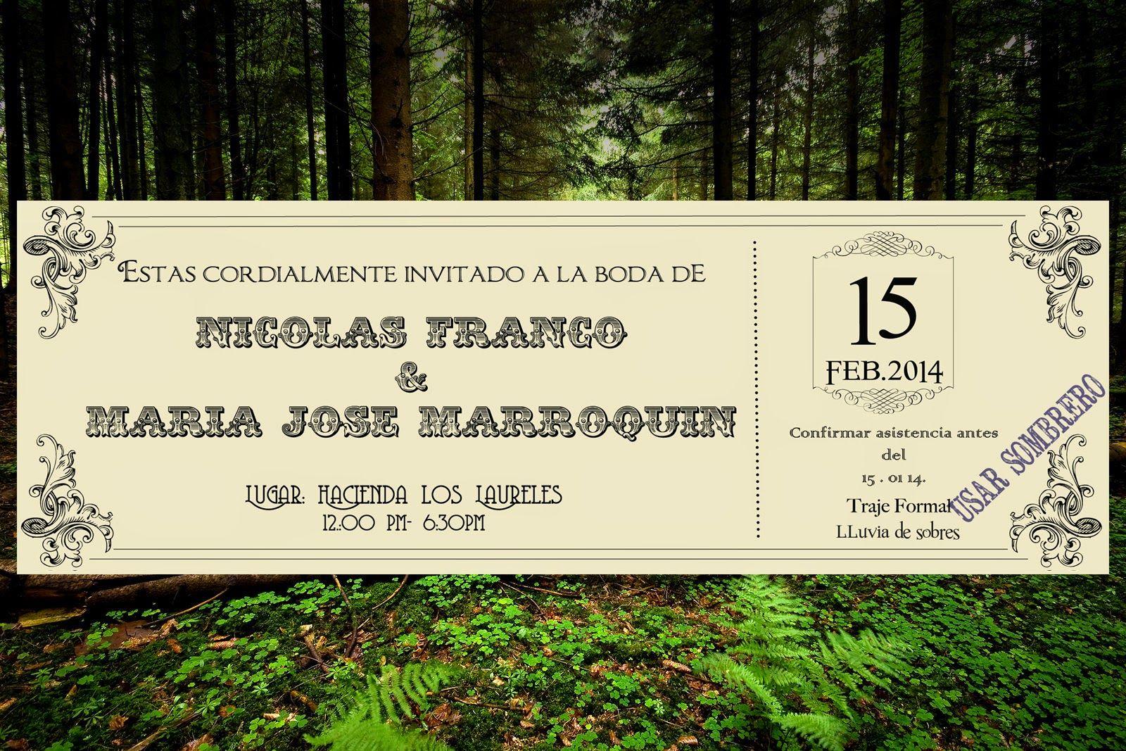 Casa Lefay: Una boda con encanto / A charming Wedding beautiful forest wedding by casa lefay matrimonios bodas invitations invitaciones