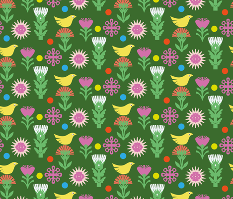 Spring Day fabric by hs_creativestudio on Spoonflower - custom fabric