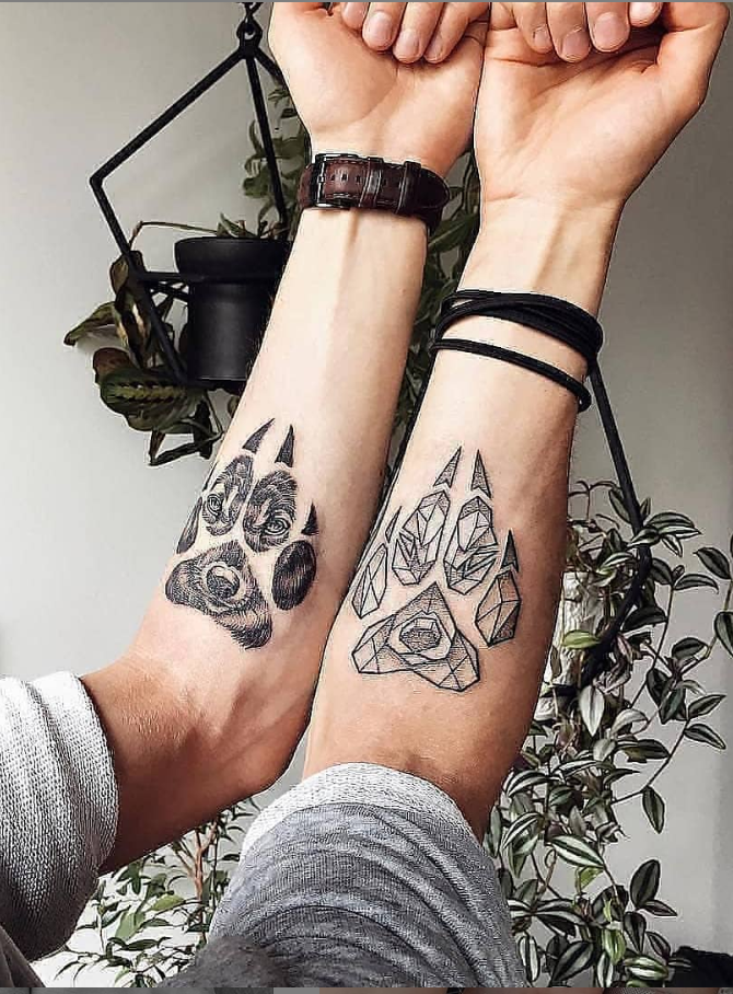 46 Lovely Matching Couple Tattoo Designs To Show Your Love Page 34 Of 46 Couples Tattoo Designs Matching Couple Tattoos Best Couple Tattoos