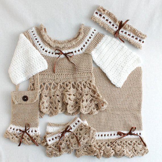 Crochet Pattern PDF Victoria Ensemble