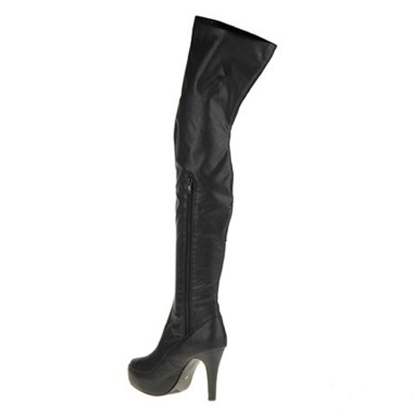 Stiletto Heeled Over the Knee Boots