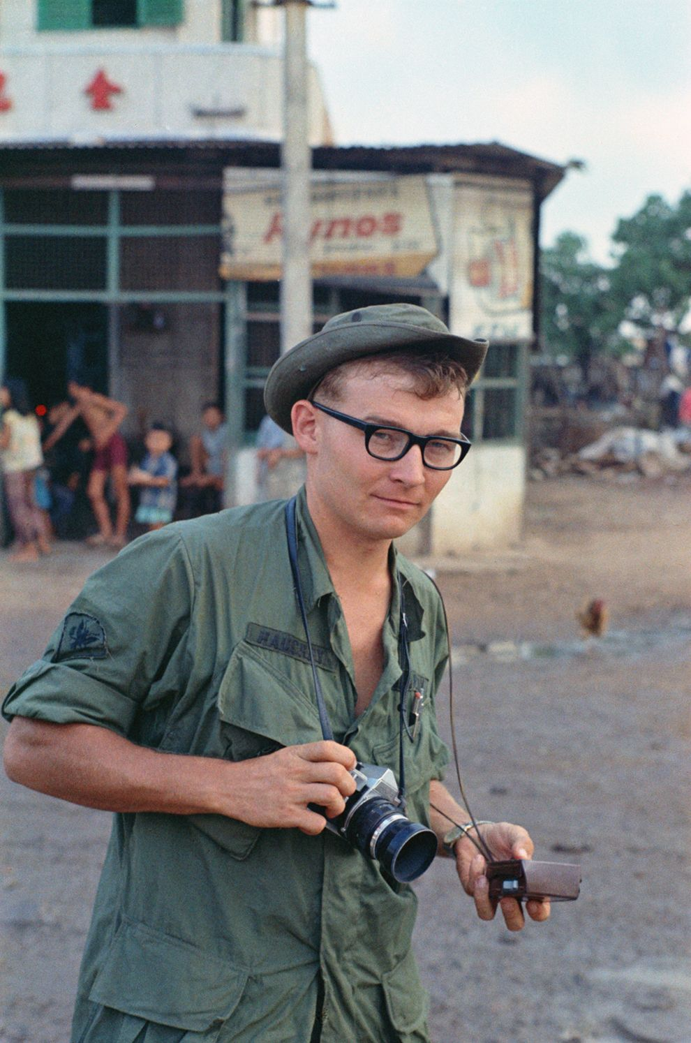 a6dde9df9bd Charlie Houghey was drafted into the US Army in October of 1967. He was 24