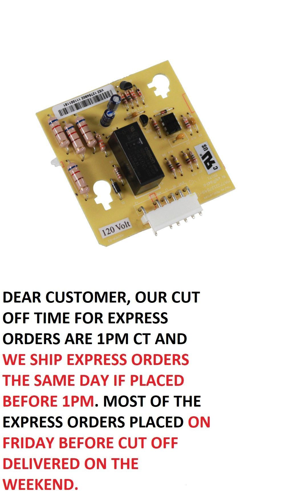 New Genuine OEM Whirlpool Refrigerator Defrost Board 67004704