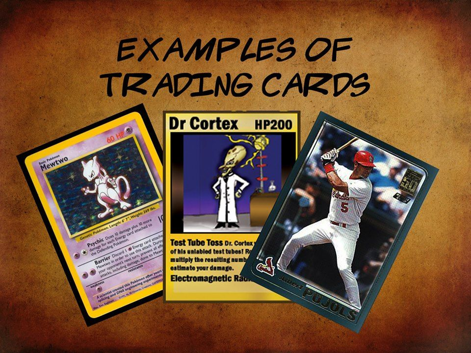 TradingCards are a classic item for sports teams. It
