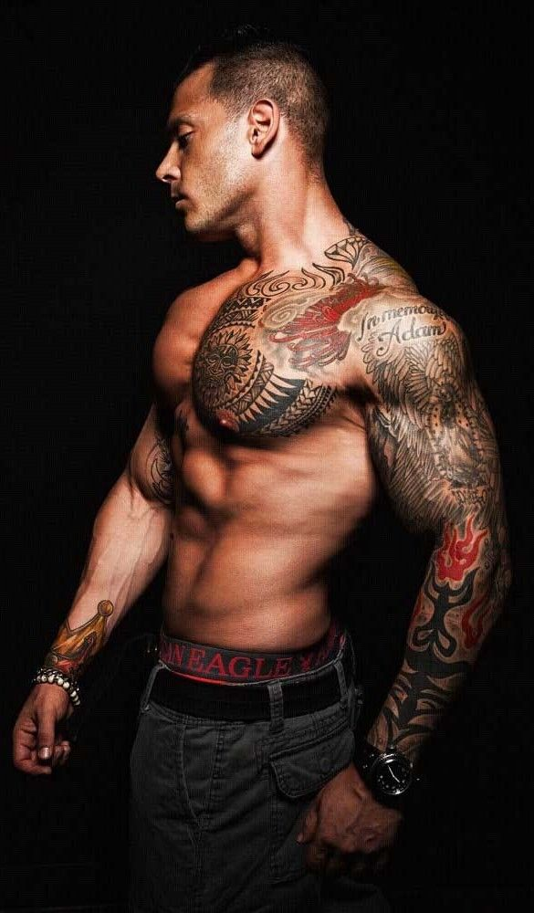 84afa18e4 #Bodybuilder Jason Borrego #tattoos. 8531 Santa Monica Blvd West Hollywood,  CA 90069 - Call or stop by anytime. UPDATE: Now ANYONE can call our Drug  and ...