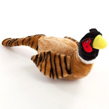 Canine Styles Pheasant Dog Toy This large pheasant toy is perfect