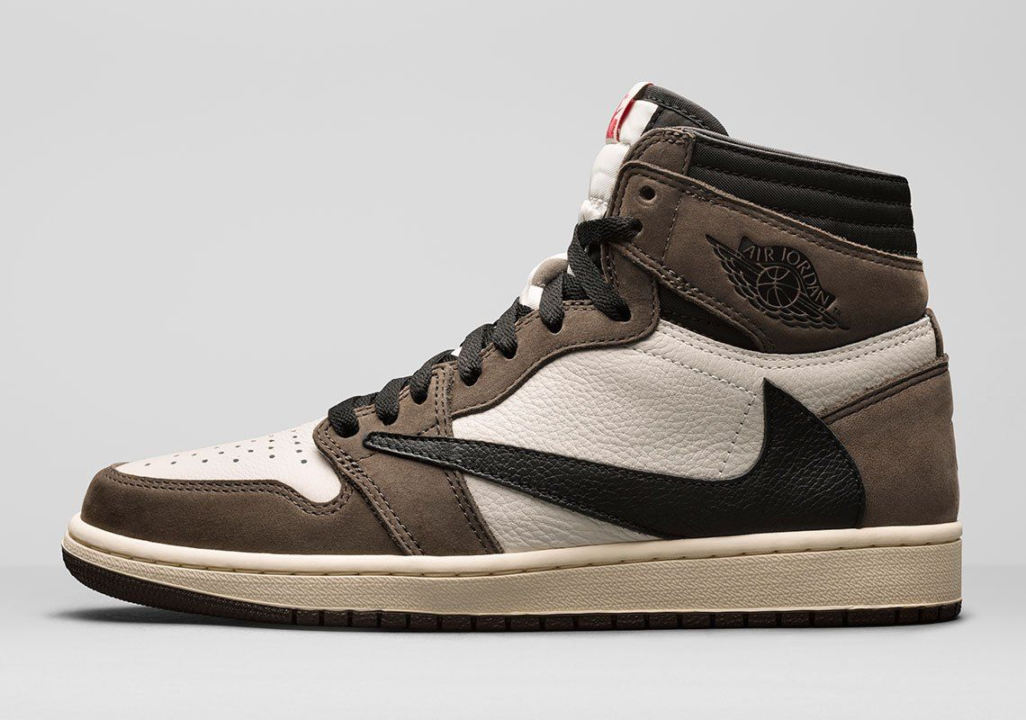 Travis Scott Air Jordan 1 Official Release Date Sneakernews Com Air Jordans Travis Scott Shoes Travis Scott