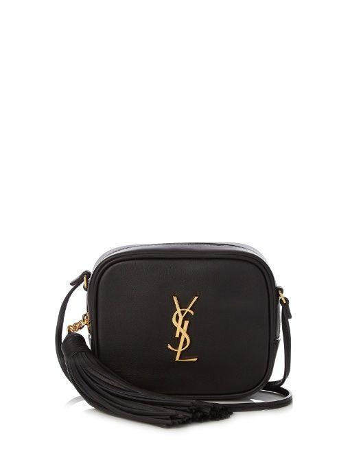 e2e1064292 Saint Laurent Monogram Blogger leather cross-body bag