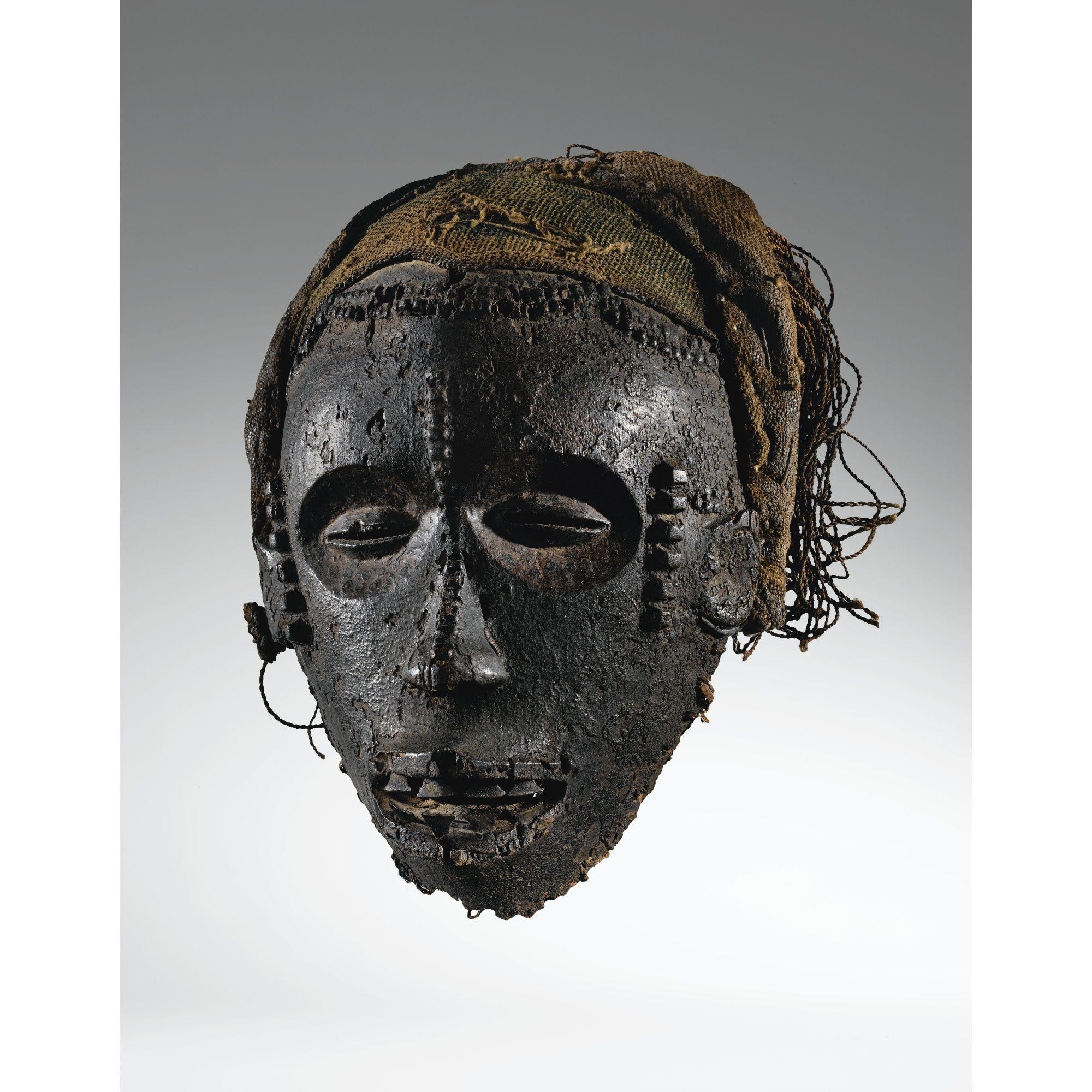 masque africain hante
