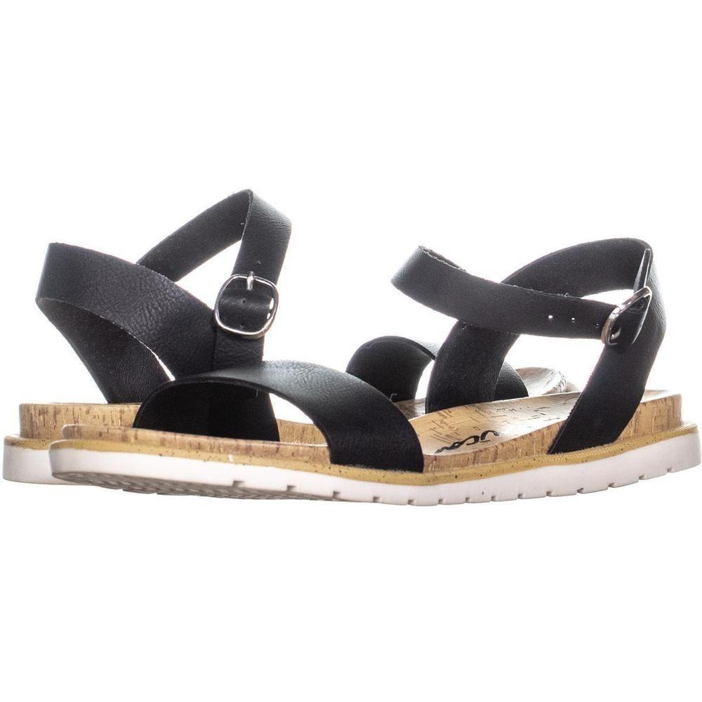 e8cc71e2b58 AR35 Mattie Ankle Strap Flat Sandals 996 Black 7.5 US  fashion  clothing   shoes  accessories  womensshoes  sandals (ebay link)