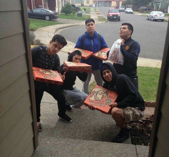 """""""When a squad member say, 'I want pizza'."""""""