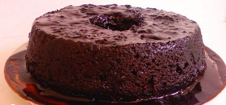 Bolo De Chocolate Que Sai Sempre Bem Com Imagens Bolo De