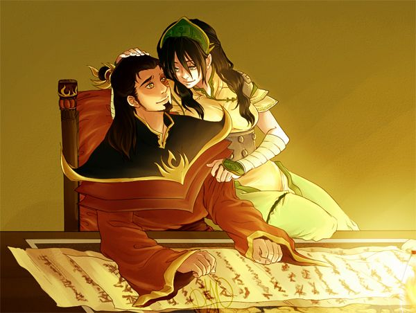 Zuko And Toph Okay. This is just ado...