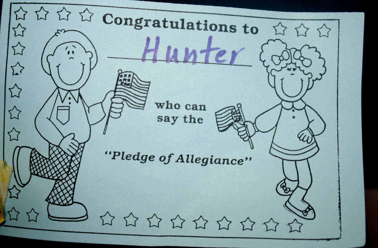 True Blue Aggie Fans: Cheers to Hunter!